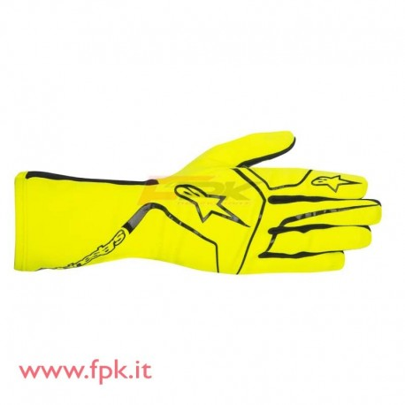 Alpinestars guanto Tech-1 K Race giallo-fluo/nero