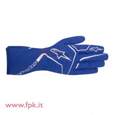 Alpinestars Guanto bimbo Tech-1 K Race blue