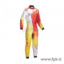 Tuta Omp KS-1R rossa/gialla