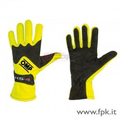 Guanto OMP KS-4 nero-giallo