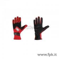 Guanto OMP KS-4 nero-rosso