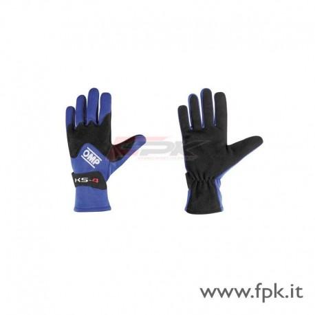 Guanto OMP KS-4 nero-blu