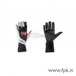 Guanto OMP KS-3 nero/bianco/arancio-fluo