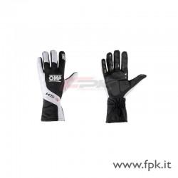 Guanto OMP KS-3 nero/bianco