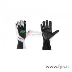 Guanto OMP KS-3 nero/bianco/verde-fluo