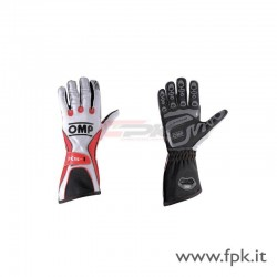 Guanto OMP KS-1 bianco/rosso/nero
