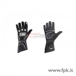 Guanto OMP KS-1 nero/*bianco/grigio