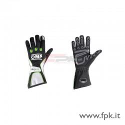 Guanto OMP KS-1 nero/bianco/verde-fluo