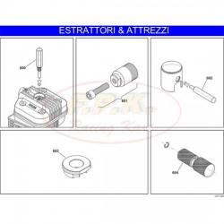 Attrezzo controllo travasi cilindro