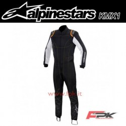 Alpinestars Tuta K-MX 1 nera/bianca/orange
