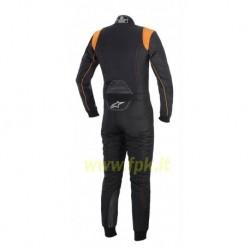 Alpinestars Tuta K-MX 9 nera/arancio fluo
