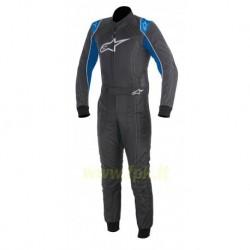 Alpinestars Tuta K-MX 9 antracite/blu/nera