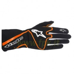 Alpinestars Guanto Tech 1-K nero/orange fluo