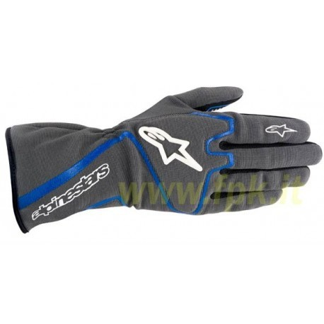 Alpinestars Guanto Tech 1-K antracite/blue