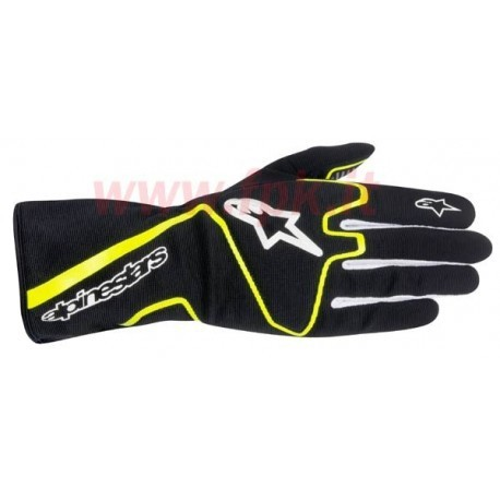 Alpinestars Guanto Tech 1-K Race nero/giallo fluo