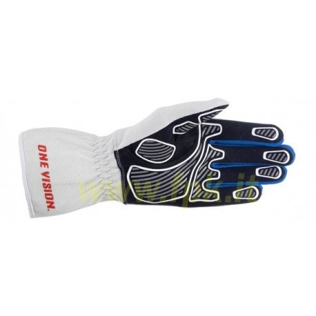 Alpinestars Guanto Tech 1-K Race Bianco/blu/red