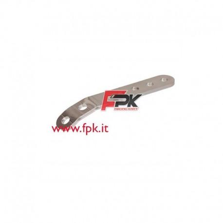 Staffa con curva per supporto Nox