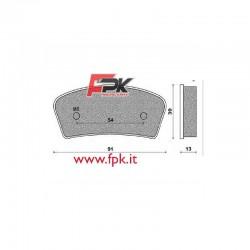Pastiglia compatibile Allkart interasse 54mm