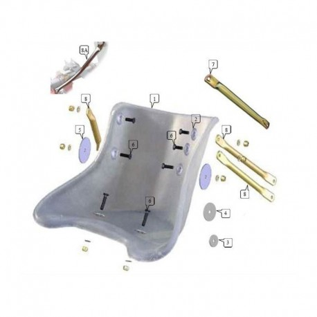 Rondella sedile alluminio 35x3 (figura 3)