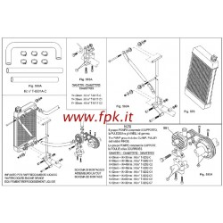 KIT SUPPORTO RADIATORE 410*230mm (Figura 560A)