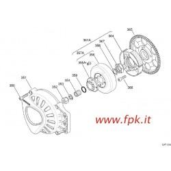 CALOTTA FRIZIONE X30 PIENA + PIG Z10 (Figura 357A)