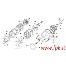 DISCO FRIZIONE ACCIAIO 1,5mm (Figura n° 9)