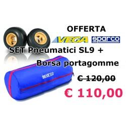 Set Pneumatici SL9 Vega con borsa Sparco