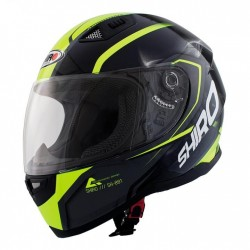 Casco Integrale Shiro SH 881 Motegi Fluo/Nero