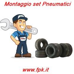 Montaggio set Pneumatici