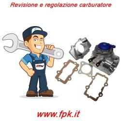 Revisione e regolazione carburatore