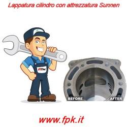 Lappatura cilindro con attrezzatura Sunnen