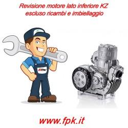 Revisione motore lato inferiore KZ escluso ricambi e imbiellaggio