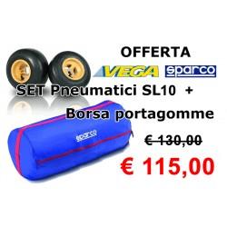 Set Pneumatici VEGA SL10 con borsa SPARCO