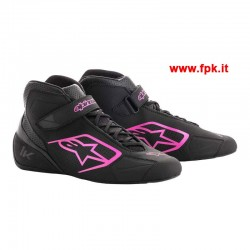 Tech-1 K Shoe Nero/Rosa
