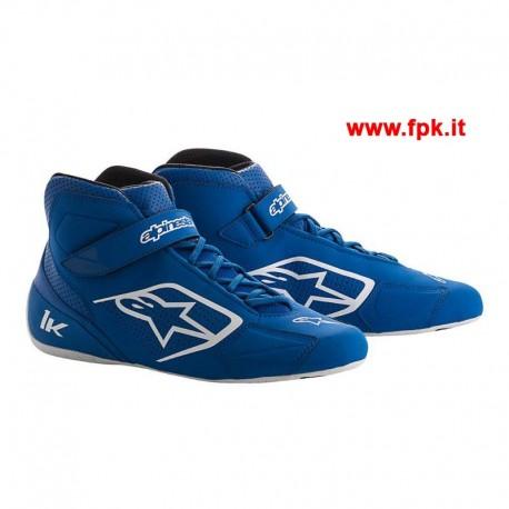 Tech-1 K Shoe Blu/Bianco