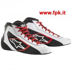 Tech-1 K START Shoe Bianco/Nero/Rosso