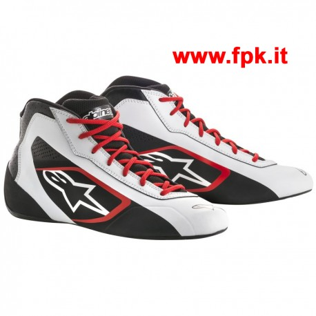 Tech-1 K START Shoe Nero/Rosso/Bianco