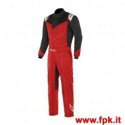 Tuta Alpinestars Kart Indoor Suit Rosso