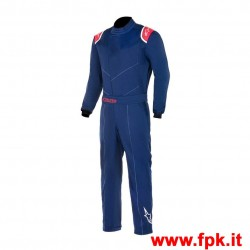 Tuta Alpinestars Kart Indoor Suit BLU