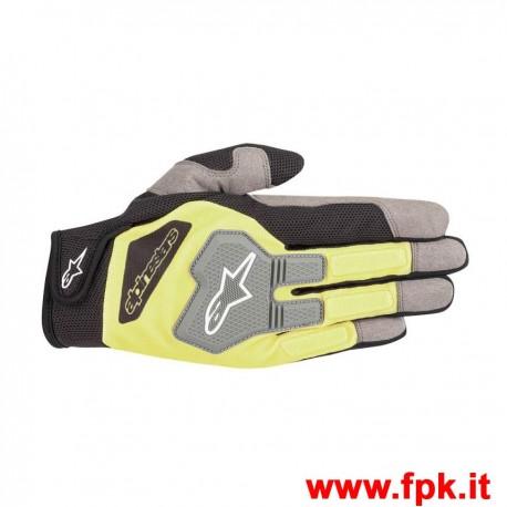 Guanti Alpinestars Engine Gloves Giallo Fluo