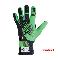 Guanti Omp KS-4 Gloves Verdi Fluo
