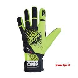 Guanti Omp KS-4 Gloves Gialli Fluo