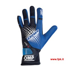 Guanti Omp KS-4 Gloves blu