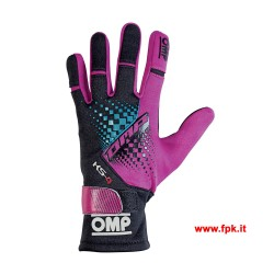 Guanti Omp KS-4 Gloves Magenta