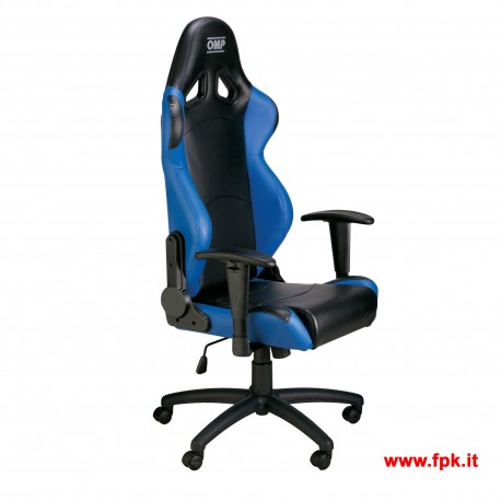 Poltrona Racing OMP Chair HA/777E BLU