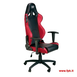 Poltrona Racing OMP Chair HA/777E Rossa