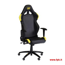 Poltrona Racing OMP Chair HA/777E Gialla