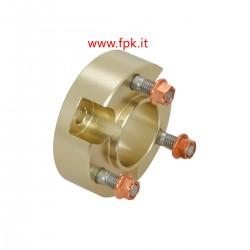 Prolunga L.23 mm anodizzato per mozzo ruota colore Oro