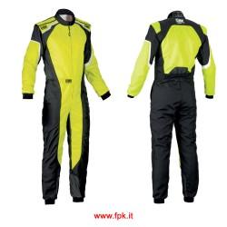 Tuta Omp KS-3 Suit my2019 GIALLO/NERO