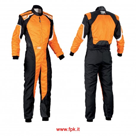 Tuta Omp KS-3 Suit my2019 NERO/ARANCIO